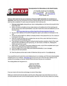 PADP-2017 Valentine Action Instructions
