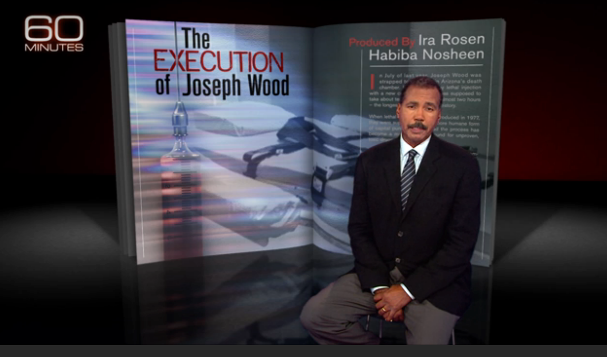 60 Minutes The execution of Joseph Wood